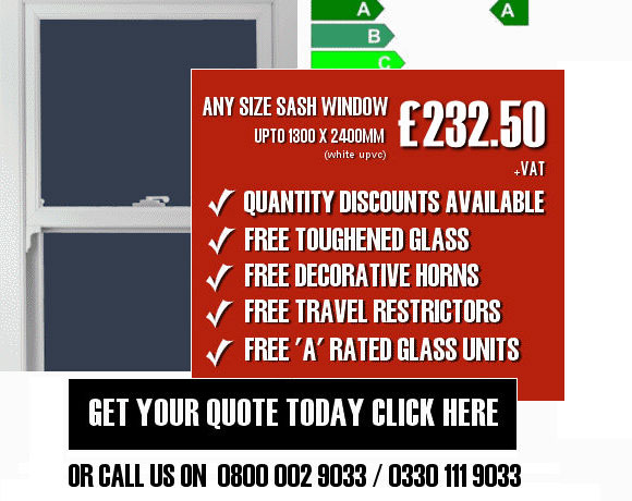 uPVC Sash Window Quote