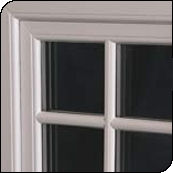 sash window close-up