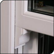 vertical sliding upvc close-up 2