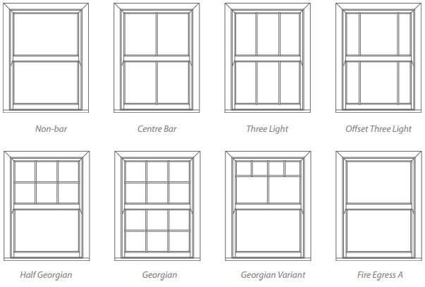 Vertical sliding sash windows uk replacement vertical for Window styles